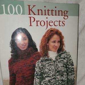 100 knitting projects Book